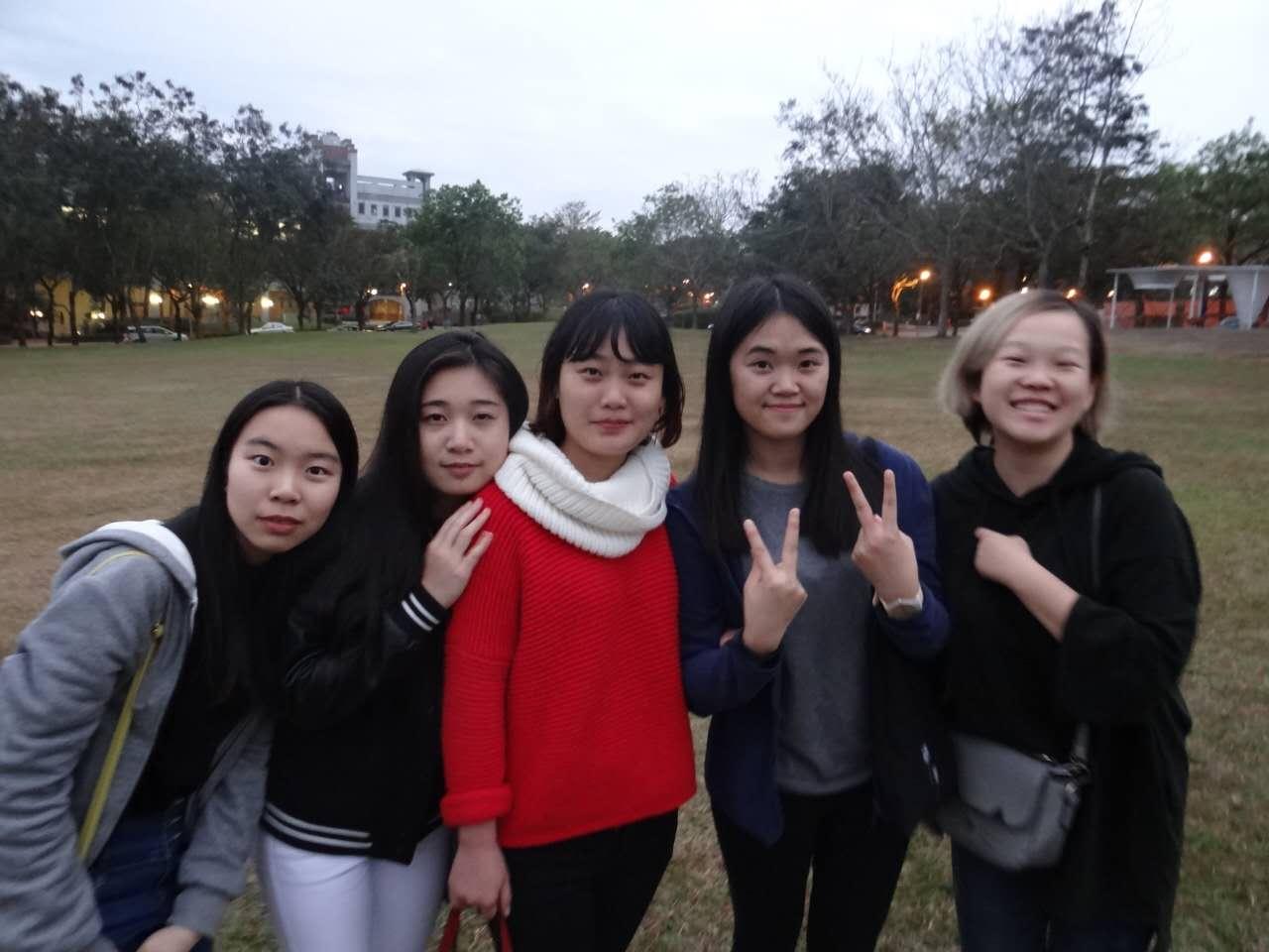 在2016年的秋季,我以山财交换生的身份来到了台湾暨南国际大学学习